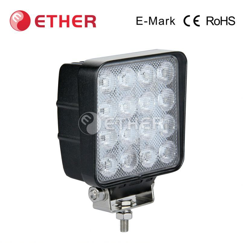 usa distributor wanted ECE R10 CE ROHS 48W commercial electric led working light for Cars SUV