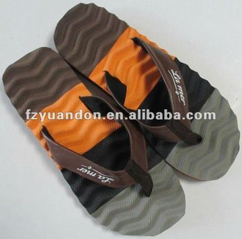 hot selling men's eva massage flip flop slippers
