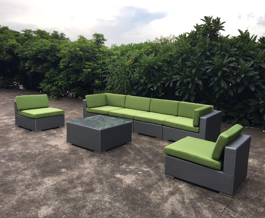 2017 factory supply new comfortable design modern cheap outdoor rattan sofa