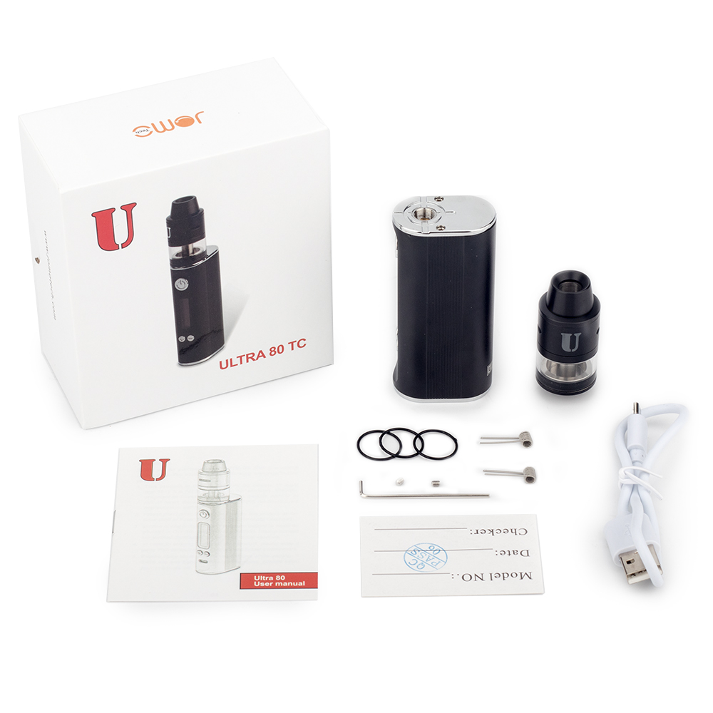 Popular electronic cigarette Jomotech ultra 80 vape mods 2017 from China manufacturer