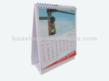 Customize Business Desktop Calender Cheap Promotional Table Calendar Printing 2012