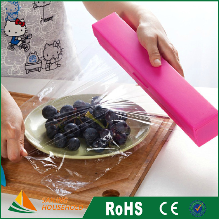 Good quality colored plastic wrap for food, wholesale plastic wrap for soap, plastic stretch wrapping film roll