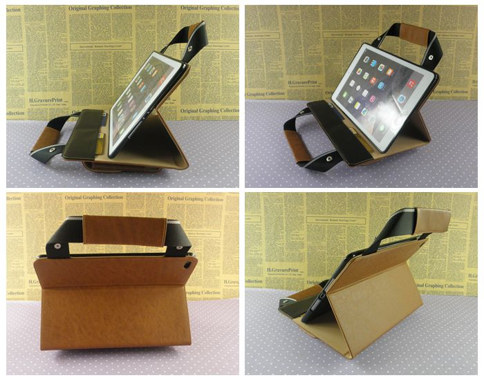 Man business messager bag case for ipad air 2 with phone charger card pocket wholesale