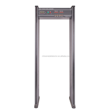 6 Zones Walkthrough Metal Detector Body Scanner Security Gate