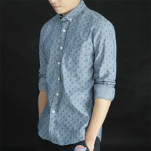 New product men shirt dlim fit style indonesia shirt