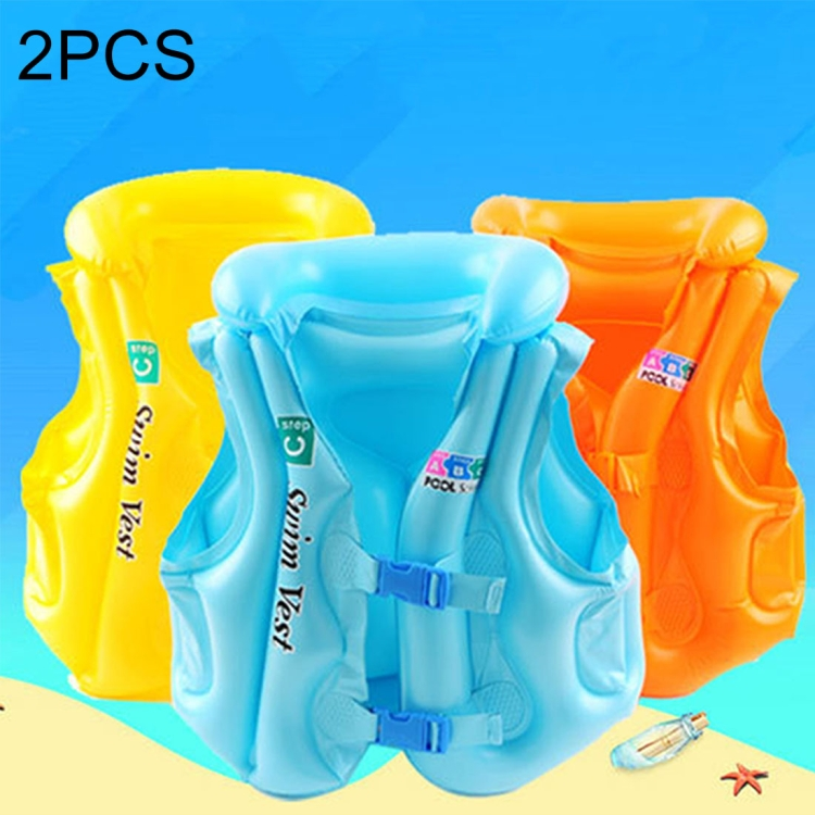 2018 High quality 2 PCS C Code Children Float Inflatable Life Jacket wholesale kids Swimsuit