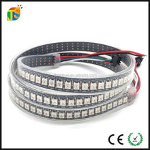 IP67 Casing waterproof led strip flexible 5050 rgb ws2812 IC 144leds