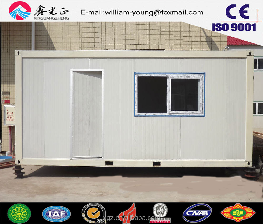 Low cost steel structure prefabricated flat pack container house,tiny house sale in Africa