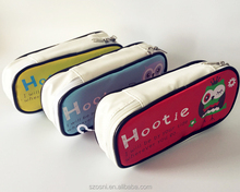The best selling personalised plain pencil case with compartments