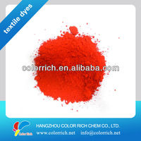 Disperse Red 167 200% dispers dyes color powder color fixer in fabric dyeing