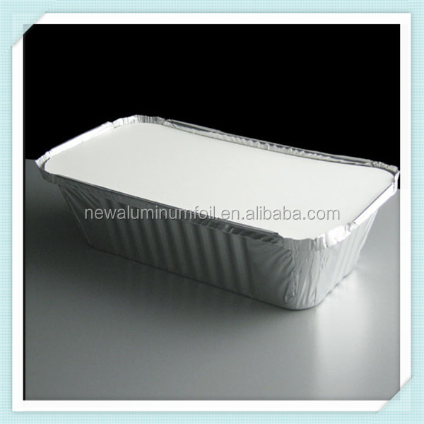 Oven safe takeaway food disposable aluminum foil container/tray/box