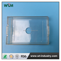 China online transparent pocket business name card holder cases