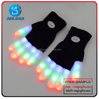 New Design Party favor Cotton led Flashing glove Glow in the dark gloves