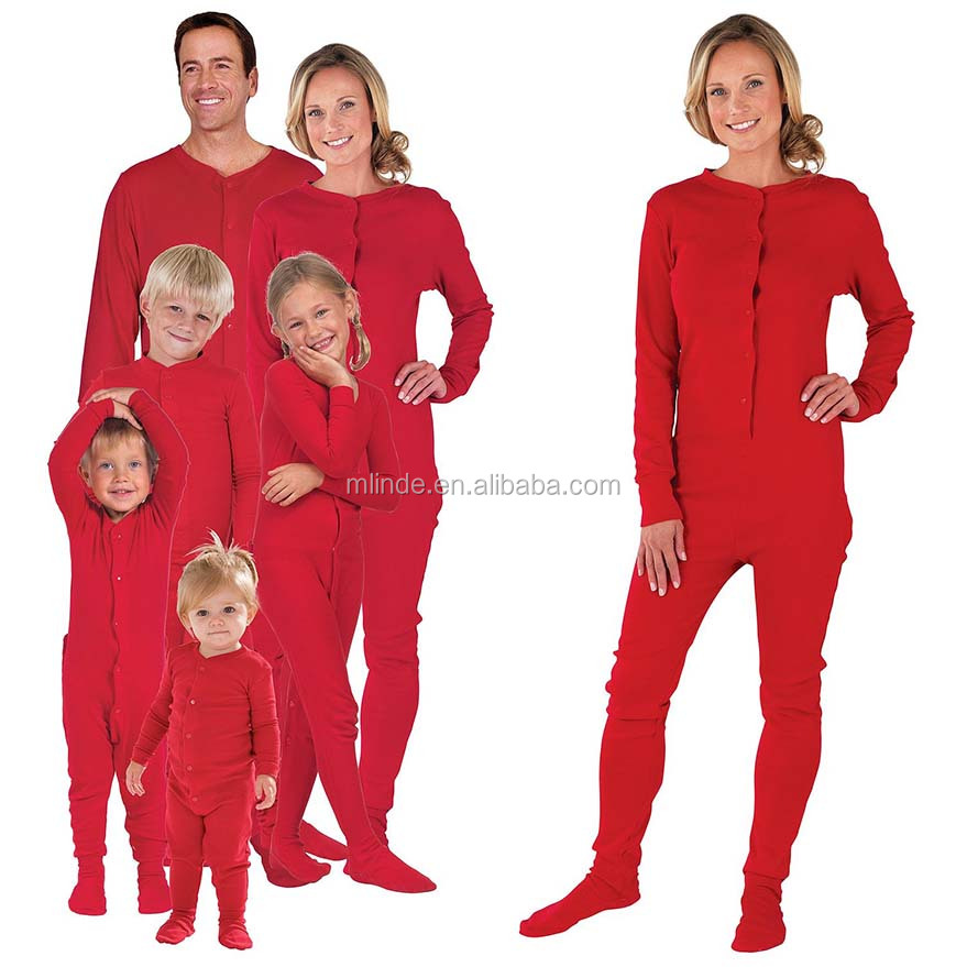 Red Matching Family Pajama Set Matching Family Christmas Pajamas