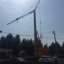 24m working height 2 ton 25 radius mini moving tower crane mobile crane
