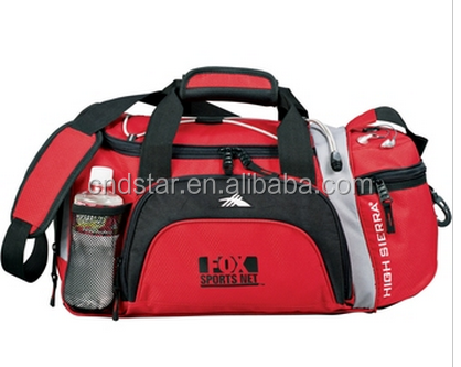 gym bag shoe compartment Promotional Duffle Bags - 22""