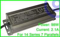 CE standard Constant Current Waterproof LED power driver 98W 2.1A IP66