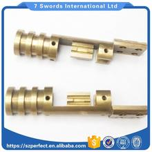 OEM machining Service Precision Mini Milling and unions conical joint brass to iron seat