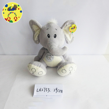 Hot selling kids elephant soft doll toys