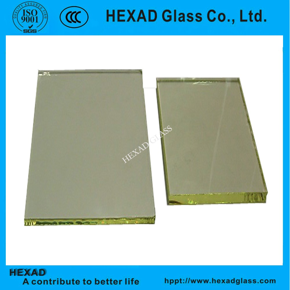 laminated lead safety glass