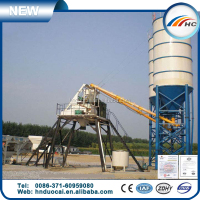 HZS50 concrete batching machine /50m/3 ready mix concrete plant for sale