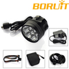 Super Brightness 7x Cree XML T6 Battery Powered LED Bicycle Light 8000 Lumen