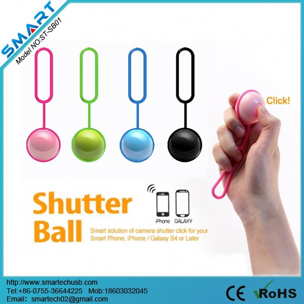 2014 New Arrival Wireless Bluetooth Remote Shutter,wellcore self timer for android/ios