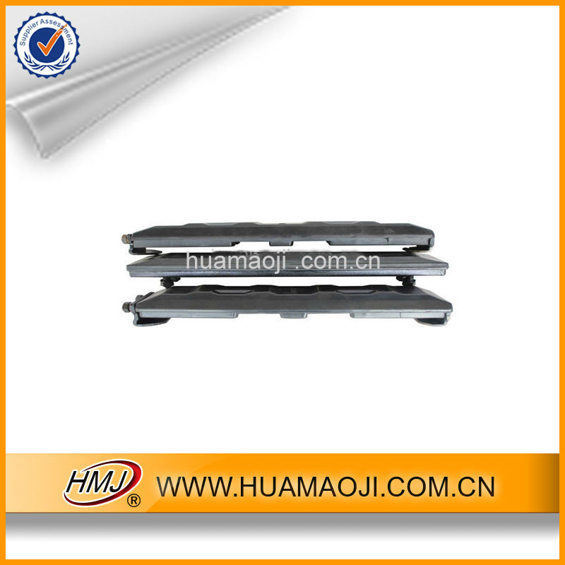 2015 new snow rubber track for snowmobile
