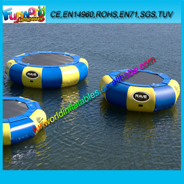 Hot Sales Excellent Inflatable Water Bouncer Trampoline for Lake/ Sea/ Aqua Used (FUNWG1-077)