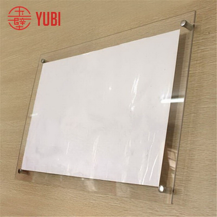 Customized most popular acrylic picture frame parts