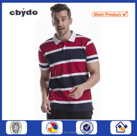 OEM factory price mens striped polo volkswagen polo accessories