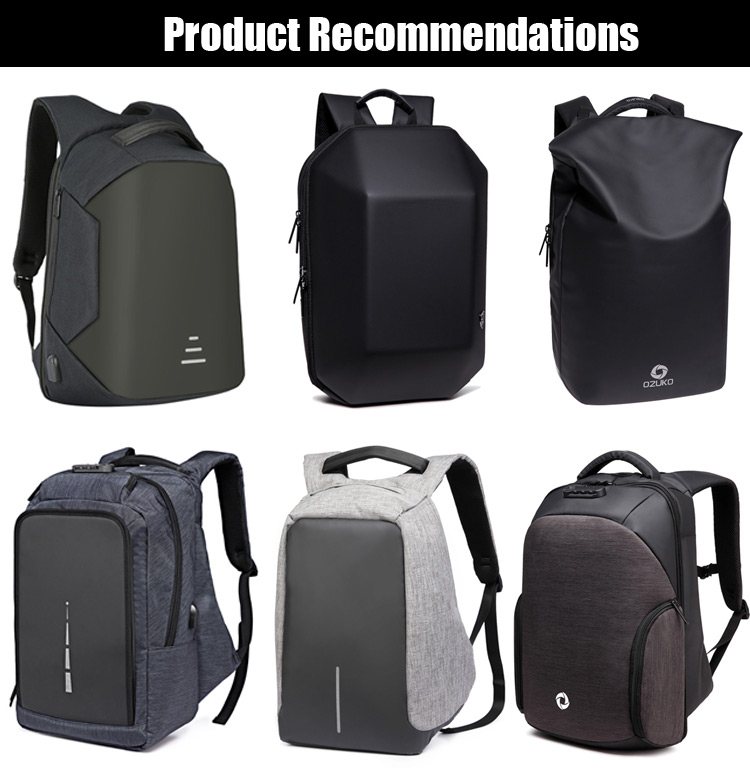 2018 Brand latest design waterproof smart security laptop anti theft lightweight USB day bagpack backpack back pack bag