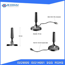 Compact Size VHF /UHF / DVB / PAL / NTSC Wireless digital TV System Antenna