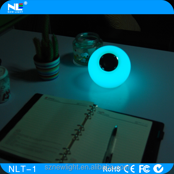 Round bluetooth speaker,Music Playing Led Light Bulb With Speaker,Music ball Portable Speaker