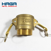 Brass Cam and groove coupling part B