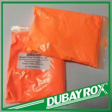 Factory Prices Fluorescent Pigment Orange Yellow for Coating /Paint