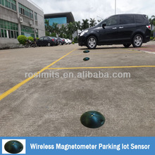 Wireless Magnetometer Parking Spot Sensor for Parking Lot Management System