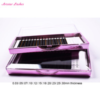 Hand made 3D mink fur lashes natural long false eyelashes 100% mink fur eyelash extension