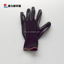 High quality nitrile half coated gardening hand protection work gloves