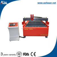 Factory supply AOL 1325 plasma cnc laser metal cutting machine price