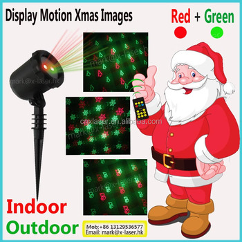 Hot sale outdoo garden laser light star pattern for trees Christmas decor