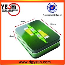 All kind of food Use and Metal Material plain mint tin