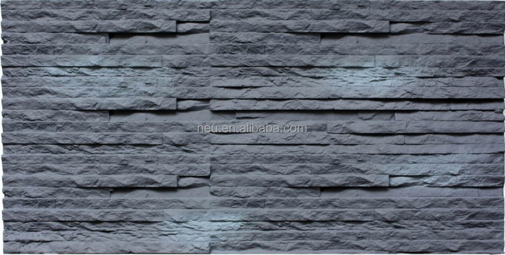 Fireproof Interior Artificial Culture Stone Wall Panels