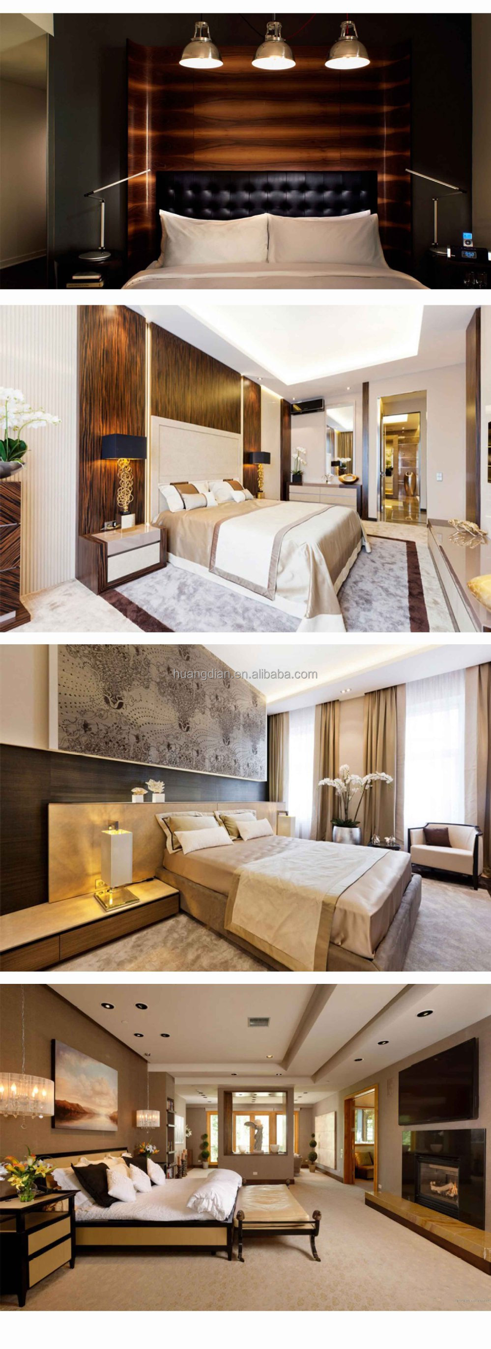Hotel room furniture sets - Malaysia High End Bedroom Hotel Room Furniture Luxury Furniture Bed Room Set