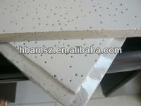 china manufacture Soundproof acoustic mineral fibre/fiber ceiling tiles/board