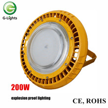 Industrial explosion-proof IP65 200W led high bay lighting