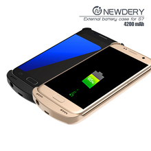 2016 best quality aliexpress power battery charger wireless power case for samsung galaxy s4 s7