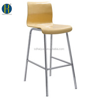 HY3013 Best Selling Wooden High Chair, Wooden Bar Stools, Wood High Bar Stools