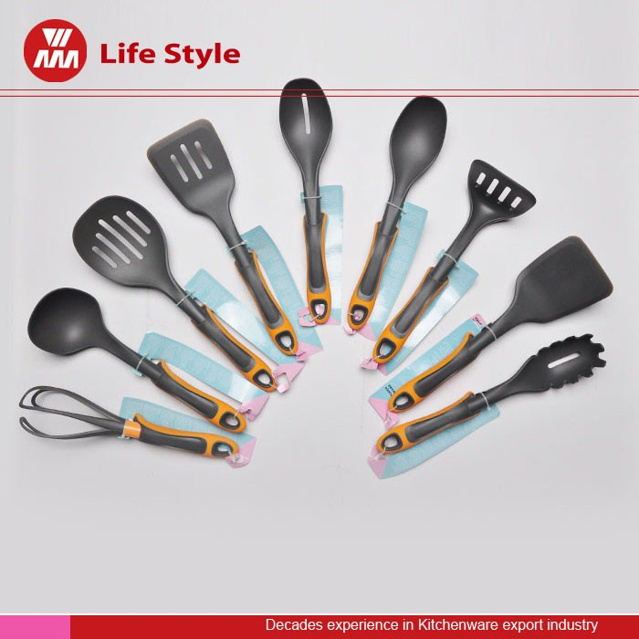 High quality silicone kitchen cooking tools Utensil Set