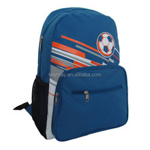 Sports soccer football team backpack sport gym bag 600D polyester backpack